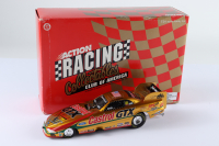 John Force Signed LE Castrol GTX 1998 Mustang Funny Car 1:24 Die-Cast Car (JSA COA) at PristineAuction.com