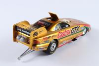 John Force Signed LE Castrol GTX 1998 Mustang Funny Car 1:24 Die-Cast Car (JSA COA) at PristineAuction.com