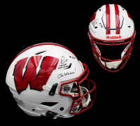 Melvin Gordon Signed Wisconsin Badgers Full-Size Authentic On-Field SpeedFlex Helmet with Multiple Inscriptions (Radtke COA) at PristineAuction.com