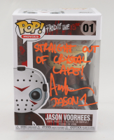 """Ari Lehman Signed """"Friday the 13th"""" #1 Jason Voorhees Funko Pop! Vinyl Figure Inscribed """"Straight Out of Crystal Lake!"""" & """"Jason 1"""" (Beckett COA) at PristineAuction.com"""