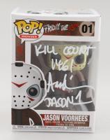 "Ari Lehman Signed ""Friday the 13th"" #1 Jason Voorhees Funko Pop! Vinyl Figure Inscribed ""Kill Count 146!"" & ""Jason 1"" (Beckett COA) at PristineAuction.com"