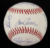 1969 Mets OML Baseball Team-Signed by (20) with Tom Seaver, Nolan Ryan, Donn Clendenon, Jerry Koosman, Cleon Jones, Al Weis (Beckett LOA) at PristineAuction.com