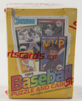 1989 Donruss Baseball Wax Box with (36) Packs (See Description) at PristineAuction.com