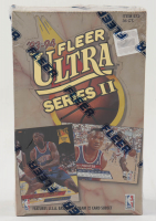 1993 Fleer Ultra Series 2 Basketball Box of (36) Packs at PristineAuction.com