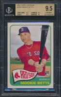 Mookie Betts 2014 Topps Heritage #H558 RC (BGS 9.5) at PristineAuction.com