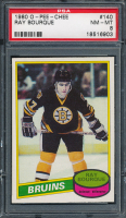 Ray Bourque 1980-81 O-Pee-Chee #140 RC (PSA 8) at PristineAuction.com