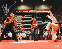 "Ralph Macchio & William Zabka Signed ""The Karate Kid"" 11x14 Photo (Beckett COA) at PristineAuction.com"