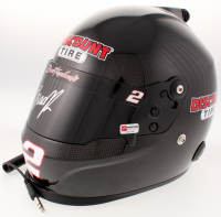 Brad Keselowski Signed NASCAR Discount Tire Full-Size Helmet (PA COA) at PristineAuction.com