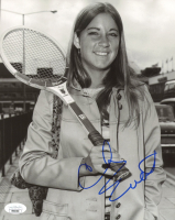 Chris Evert Signed 8x10 Photo (JSA COA) at PristineAuction.com