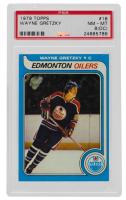 Wayne Gretzky 1979-80 Topps #18 RC (PSA 8) (OC) at PristineAuction.com