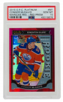 Connor McDavid 2015-16 O-Pee-Chee Platinum Marquee Rookies Red Prism #M1 (PSA 10) at PristineAuction.com