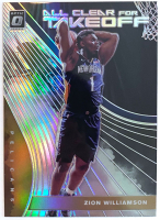 Zion Williamson 2019-20 Donruss Optic All Clear for Takeoff Holo #14 at PristineAuction.com