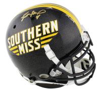 Brett Favre Signed Southern Miss Golden Eagles Authentic On-Field Full-Size Helmet (Radtke COA) at PristineAuction.com