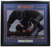 "Stan Lee Signed ""Spider-Man 3"" 24x30 Custom Framed Poster Display (JSA COA & Lee Hologram) at PristineAuction.com"