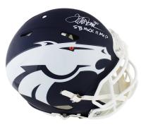 "Terrell Davis Signed Broncos Full-Size Authentic On-Field AMP Alternate Speed Helmet Inscribed ""SB XXXII MVP"" (Radtke COA) at PristineAuction.com"