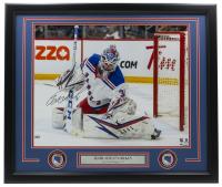 Igor Shestyorkin Signed Rangers 22x27 Custom Framed Photo Display (Fanatics Hologram) at PristineAuction.com