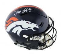 Drew Lock Signed Broncos Full-Size Authentic On-Field SpeedFlex Helmet (Radtke COA) at PristineAuction.com