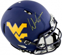 Will Grier Signed West Virginia Mountaineers Full-Size Authentic On-Field Speed Helmet (Radtke COA) at PristineAuction.com