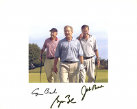 George H.W. Bush, George W. Bush, & Jeb Bush Signed 8x10 Photo (JSA LOA) at PristineAuction.com