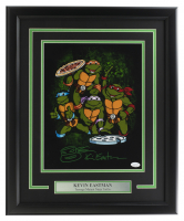 "Kevin Eastman Signed ""Teenage Mutant Ninja Turtles"" 16x20 Custom Framed Photo Display with Hand-Drawn Turtle Sketch (JSA COA) at PristineAuction.com"
