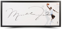 "Michael Jordan Signed Tar Heels ""The Show"" 20x46 Custom Framed LE Lithograph (UDA COA) at PristineAuction.com"