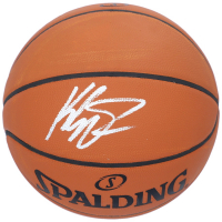 Klay Thompson Signed Spalding Basketball (Fanatics Hologram) at PristineAuction.com