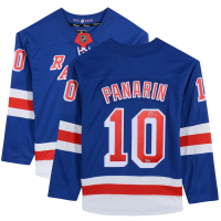Artemi Panarin Signed Rangers Jersey (Fanatics Hologram) at PristineAuction.com
