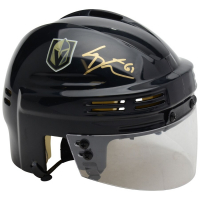Mark Stone Signed Golden Knights Mini Helmet (Fanatics Hologram) at PristineAuction.com