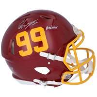 "Chase Young Signed Washington Full-Size Authentic On-Field Speed Helmet Inscribed ""Predator"" (Fanatics Hologram) at PristineAuction.com"