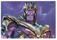 Thang Nguyen - Thanos - The Avengers - Marvel Comics - 8x12 Signed Limited Edition Giclee on Fine Art Paper #/50 at PristineAuction.com