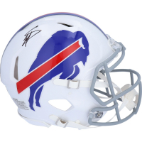 Stefon Diggs Signed Bills Full-Size Authentic On-Field Speed Helmet (Fanatics Hologram) at PristineAuction.com