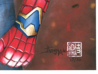 Thang Nguyen - Iron Spider - Spider-Man - The Avengers - Marvel Comics - 8x12 Signed Limited Edition Giclee on Fine Art Paper #/50 at PristineAuction.com