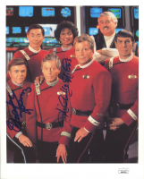 "Walter Koenig & Nichelle Nichols Signed ""Star Trek VI: The Undiscovered Country"" 8x10 Photo (JSA COA) at PristineAuction.com"