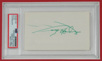 Larry Holmes Signed UFC 14x18 Custom Matted Cut Display (PSA Encapsulated) at PristineAuction.com