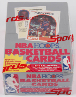 1989-90 NBA Hoops Basketball Wax Box with (36) Packs at PristineAuction.com