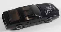 "David Hasselhoff Signed ""Knight Rider"" KITT 1982 Pontiac Firebird Trans AM 1:24 Diecast Car (Beckett COA) at PristineAuction.com"