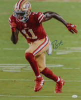 Brandon Aiyuk Signed 49ers 16x20 Photo (JSA COA) at PristineAuction.com