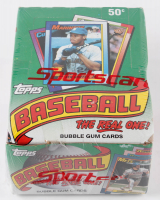 "1990 Topps ""The Real One"" Bubble Gum Baseball Cards Box with (36) Packs at PristineAuction.com"