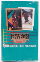 1990-91 Skybox Series 2 Basketball Box of (36) Packs (See Description) at PristineAuction.com