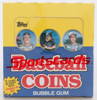 1988 Topps Baseball Coins Box with (36) Packs at PristineAuction.com