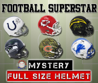 Schwartz Sports Football Superstar Signed Full-Size Football Helmet Mystery Box – Series 19 (Limited to 150) at PristineAuction.com