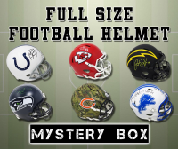 Schwartz Sports Football Player Signed Full-Size Football Helmet Mystery Box – Series 19 (Limited to 150) at PristineAuction.com