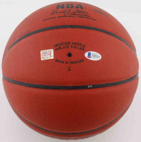Kobe Bryant Signed NBA Basketball (Beckett LOA & PSA Hologram) (See Description) at PristineAuction.com