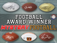 Schwartz Sports Football Award Winner Signed Full-Size Football Mystery Box - Series 2 (Limited to 100) at PristineAuction.com