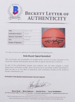 Kobe Bryant Signed NBA Basketball (Beckett LOA & PSA Hologram) (See Description) at PristineAuction.com