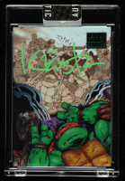 Kevin Eastman Signed 2019 Art of TMNT Green #43 TMNT Volume 2 Issue 13 (Sportscard.com Encapsulated) at PristineAuction.com