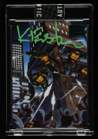 Kevin Eastman Signed 2019 Art of TMNT Green #26 TMNT Volume 1 Book 4 (Sportscard.com Encapsulated) at PristineAuction.com