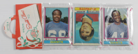 1974 Topps Football Christmas Rack Pack with (12) Cards at PristineAuction.com