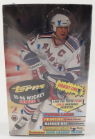 1995-96 Topps Series 1 Hockey Hobby Box with (36) Packs (See Description) at PristineAuction.com