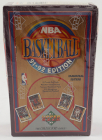 1991/92 Upper Deck Inaugural Edition Basketball Box with (36) Packs (See Description) at PristineAuction.com